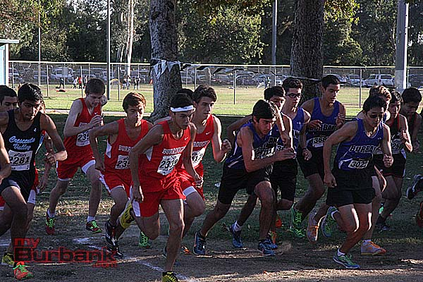 Burroughs and Burbank take off in the first Pacific League race of the season (Photos by Dick Dornan)