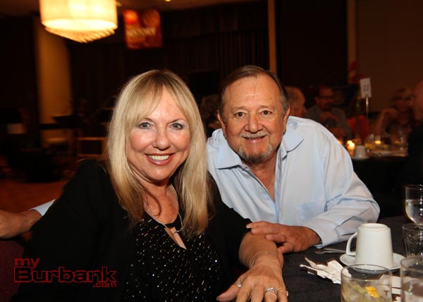 Local Burbank Realtor Ana Lizarrage and her husband Hurbert. (Photo by Ross A. Benson)