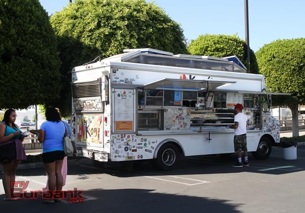 The Kogi Food Truck was there providing good food. (Photo by Ross A.Benson)