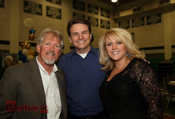 Bruce Osgood, Ross Purdy and wife Kathy. (Photo by Ross A. Benson)
