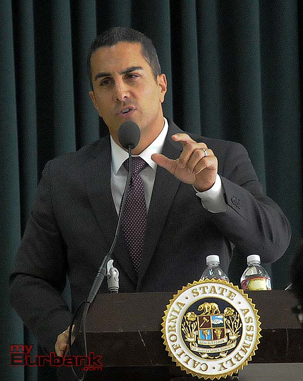 Assemblyman Mike Gatto had answers to all questions during the Town Hall meeting.