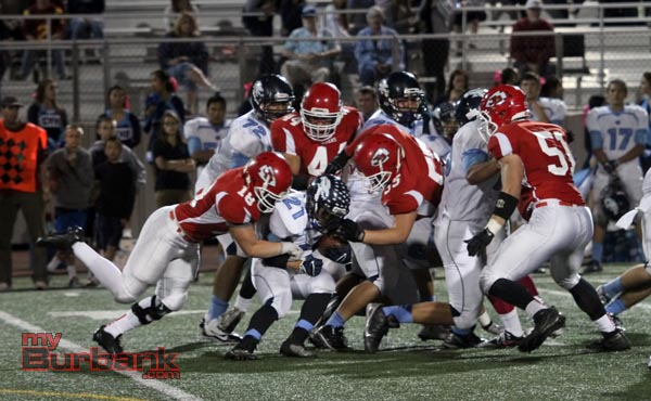 The Indians defense shutout CV in the second half (Photo by Ross A. Benson)