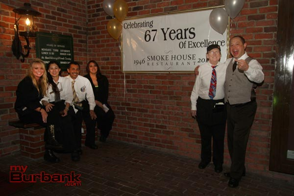 The Staff of the Smokehouse thank all their loyal customers and friends for all the great memories. Looking forward to another 67 years. (Photo by Ross A. Benson)