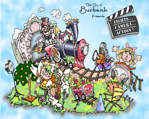 burbankrosefloat2013