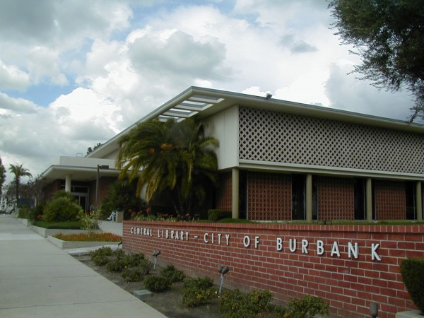 Burbank's Central Library. (Photo Courtesy of Burbank Public Library)
