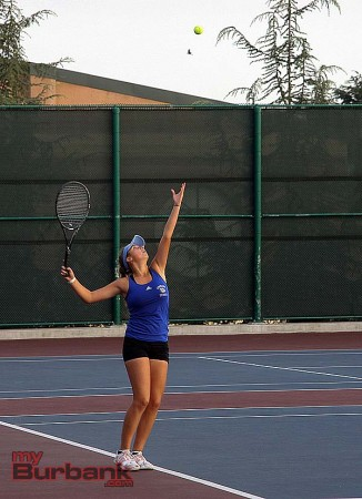 Lilit is 44-1 in singles play this year for the Bulldogs (Photo by Dick Dornan)