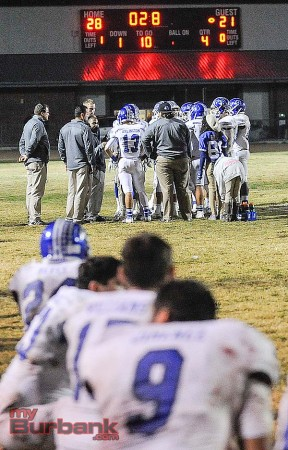 Burbank finished its season with a school-record 10 wins (Photo by Craig Sherwood)