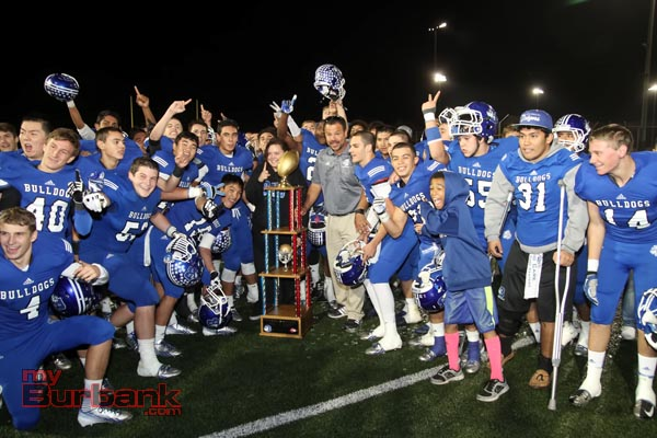 Burbank Bulldogs- city champions for a second consecutive year (Photo by Ross A. Benson)