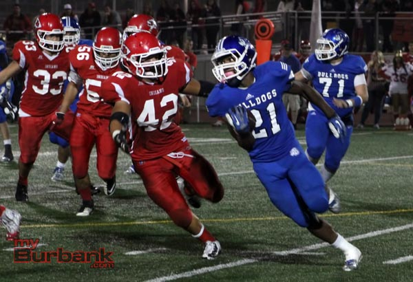 James Williams rushed for 173 yards and three touchdowns (Photo by Ross A. Benson)