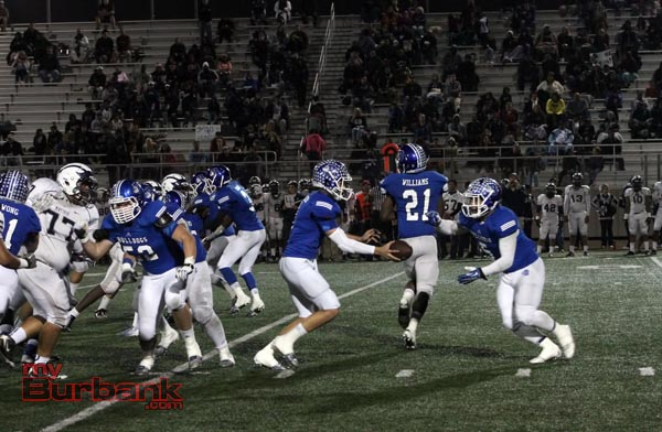 The Burbank offense churned away 632 total yards (Photo by Ross A. Benson)