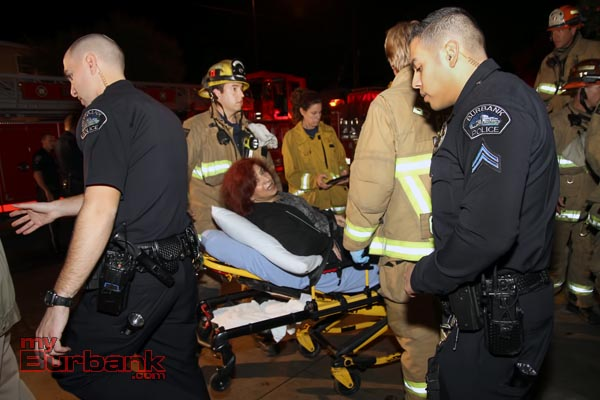 Paramedics transported the driver to Saint Joseph's Medical Center with non life threatening. (Photo by Ross A. Benson)