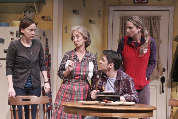 Karianne Flaathen, Ellen Crawford, Brian Ibsen and Meghan Andrews star in the West Coast Premiere of the Colony Theatre's production of MIRACLE ON SOUTH DIVISION STREET (Photo Courtesy Michael Lamont)