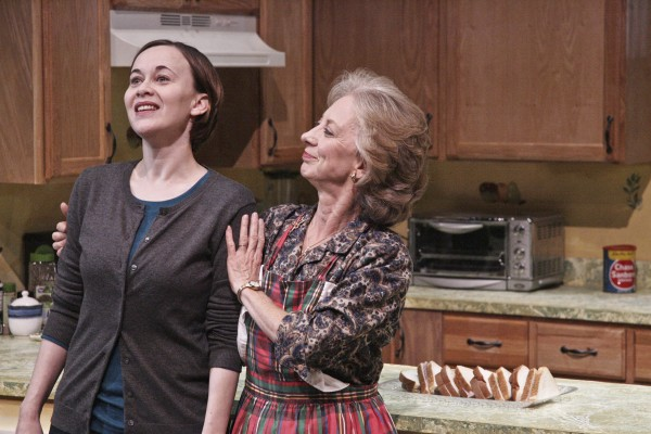 Karianne Flaathen and Ellen Crawford star in MIRACLE ON SOUTH DIVISION STREET (Photo Courtesy Michael Lamont)