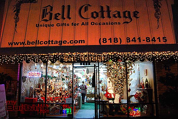Decorated for the Holidays, Bell Cottage provides a variety of colorful gifts and festive ideas. (Photo By Lisa Paredes)
