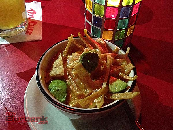 Don Cuco's famous and tasty Chicken Tortilla Soup. (Photo By Lisa Paredes)