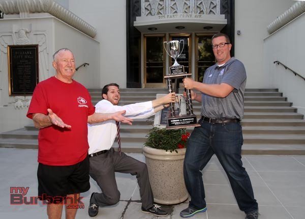 Will Burbank win the CUP? (Photo by Ross A. Benson)