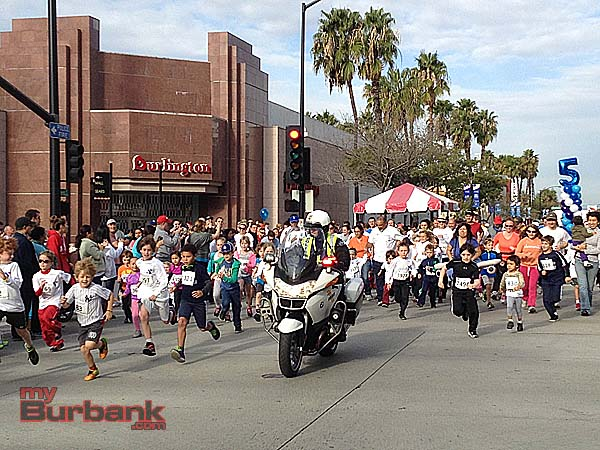 Besides the 5K and 10K races, there was also a short race for the kids (Photo By Lisa Paredes)