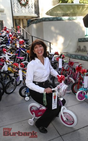 Elaine Pease the founder & Director of The Bike Angel Program (Photo by Ross A. Benson)