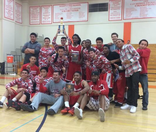 Burroughs Indians: Pasadena Poly Tournament champions