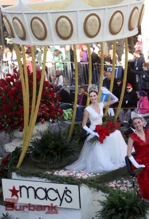 Rose Parade Quuen Ana Marie Acosta of Altadena. (Photo by Ross A. Benson)