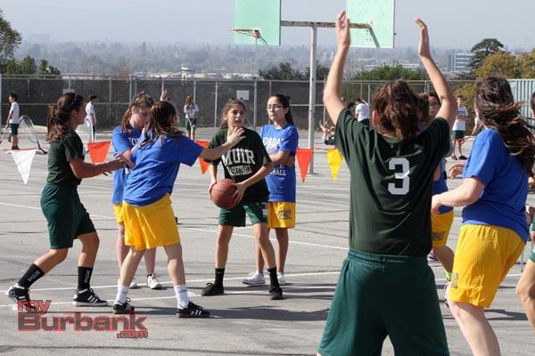 Muir battles Jordan in this matchup (Photo by Ross A. Benson)