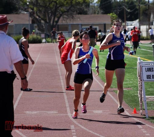 Burbank and Burroughs held their annual Burbank Relays on Saturday (Photo by Ross A. Benson)