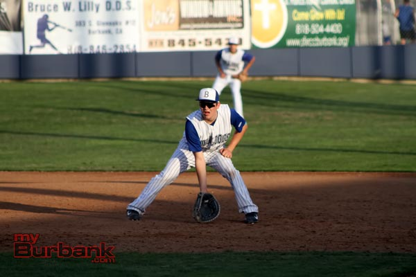 First baseman and pitcher Ryan Porras is one of a handful of young talented players (Photo by Ross A. Benson)