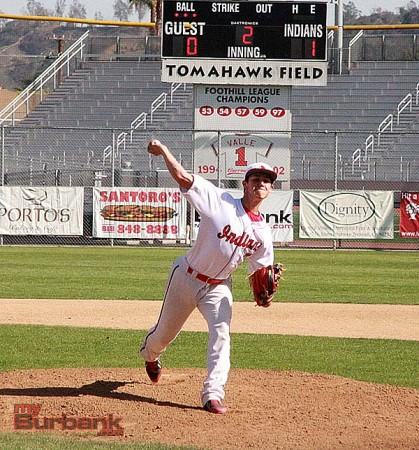 Ben Hobson pitched a solid game (Photo by Dick Dornan)