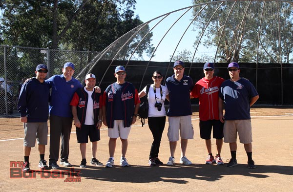 Burbank Little League opening ceremonies were a hit to all in attendance (Photo by Ross A. Benson)