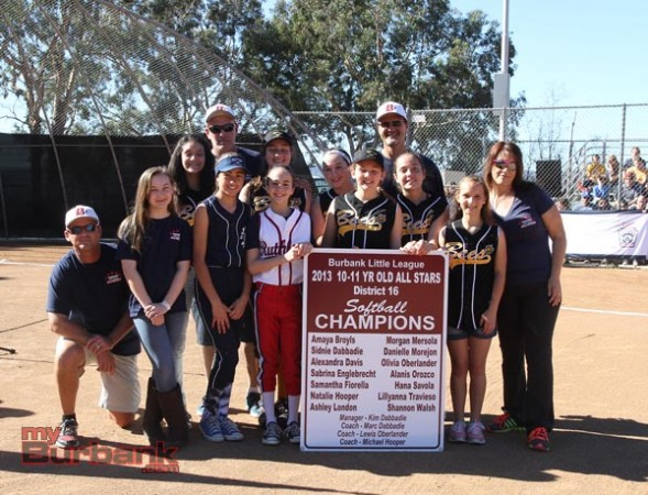 BLL 10-11 year-old All-Stars District 16 Softball Champions (Photo by Ross A. Benson)
