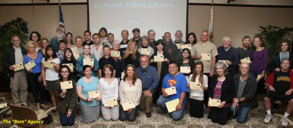 Winners of the Friends of the Burbank Public Library 2014 Photo Contest. (Photo Courtesy of Andre Murray)