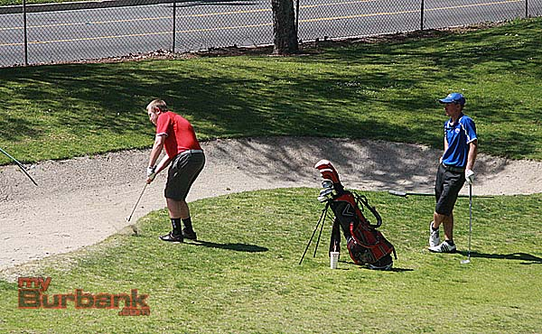 """Burroughs and Burbank battled in the """"Burbank Cup"""" (Photo by Dick Dornan)"""