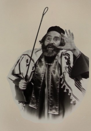 Tony Monaco, star of The Road to Damascus, as Rabbi Saul of Tarsus (Bob Walker Photography)