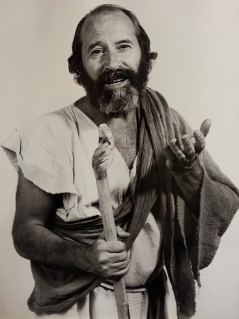 Tony Monaco, star of The Road to Damascus, as St. Paul (Bob Walker Photography)