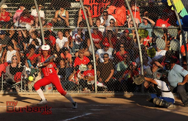 Sidney Ortega had four hits on the evening (Photo by Ross A. Benson)