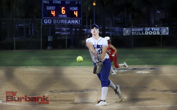 Caitlyn Brooks got tougher as the game wore on (Photo by Ross A. Benson)