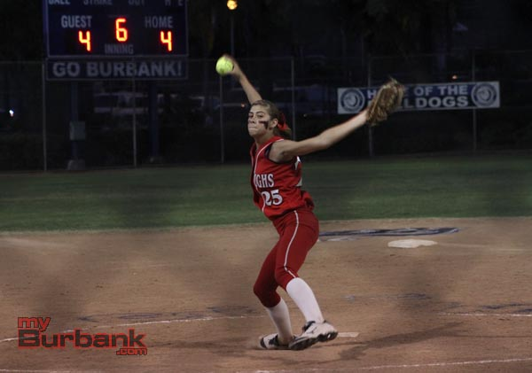 Cheyenne Steward pitched effectively and added two hits and three RBIs (Photo by Ross A. Benson)
