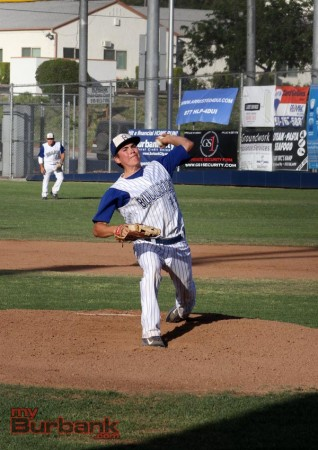 Ryan Porras had a solid effort in only his second start of the season (Photo by Ross A. Benson)