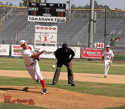 Cole Meyer shut down the Apaches offense (Photo by Dick Dornan)