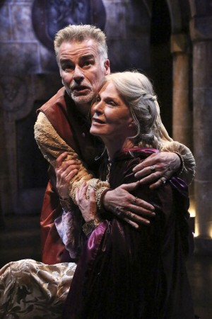Ian Buchanan and Mariette Hartley star in the Colony Theatre production of THE LION IN WINTER (Michael Lamont)