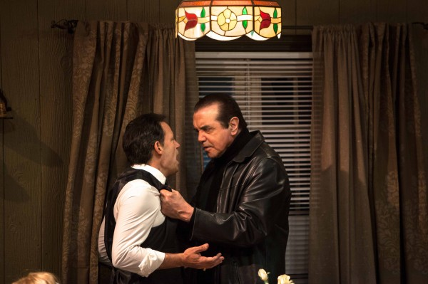 "Kenny D'Aquila and Chazz Palminteri star in the World Premiere play ""UNORGANIZED CRIME,"" written by Kenny D'Aquia and directed by David Fofi and now playing at the Elephant Theatre in Hollywood. ( Daniel Reichert)"