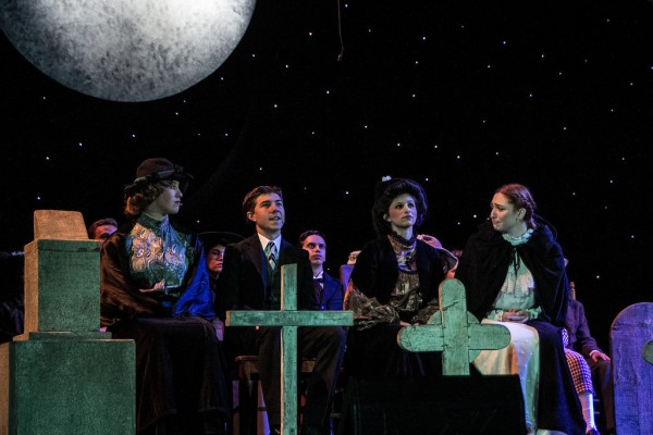"""""""Our Town"""" performed by JBHS Drama. (Photo Courtesy of Kathy Flynn)"""