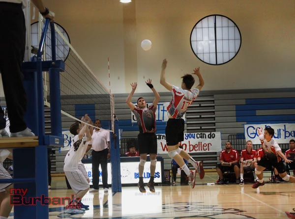 Burroughs boys volleyball