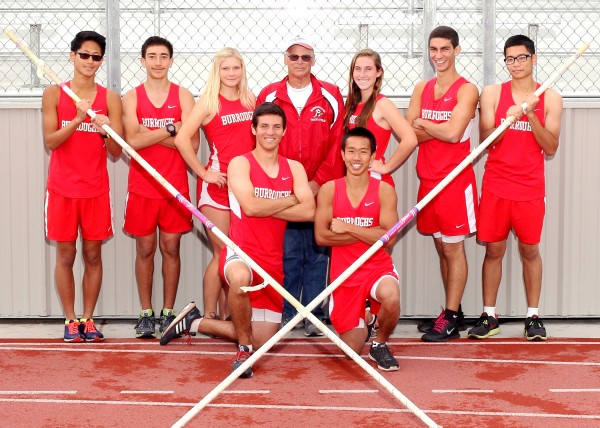 Matt Schwartz (bottom row, far left) had a phenomenal season for the Indians (Photo courtesy of Burroughs High School)