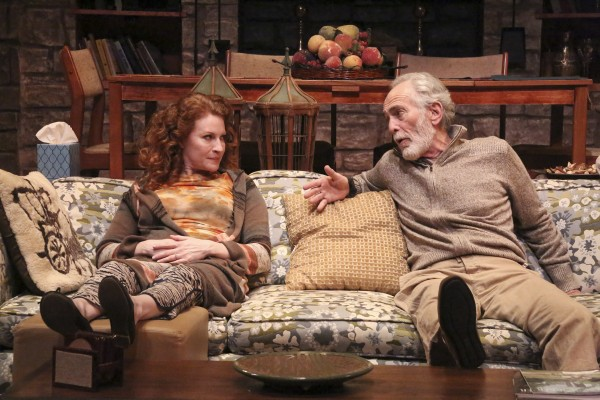 "Dee Ann Newkirk and Bruce Weitz star in the Colony Theatre's World premiere production of ""FAMILY PLANNING,"" written by Michelle Kholos Brooks and directed by Cameron Watson and now playing at the Colony Theatre in Burbank (Photo Courtesy of Michael Lamont)"