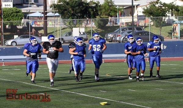 Burbank worked hard in the off-season to prepare for a long run this year (Photo by Ross A. Benson)