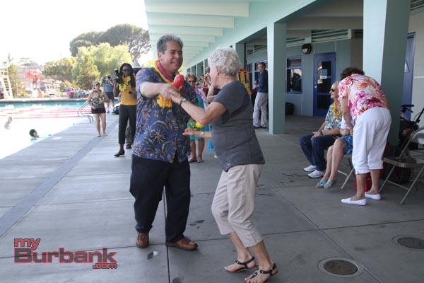 Burbank Councilman Bob Frutos still has his groove (Photo By Ross A. Benson)