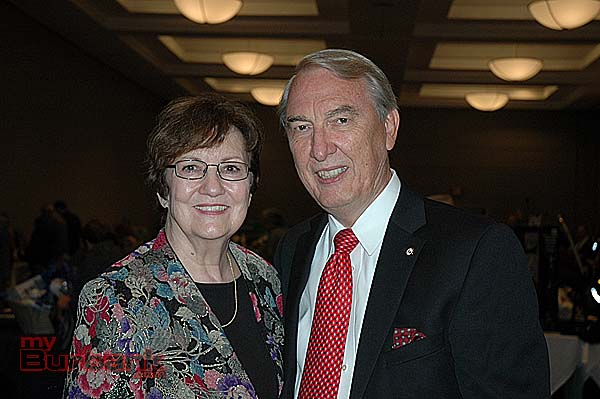 DeAnn and Al Nicol were co-chairs of the 40th annual Big Strike Auction benefiting the Boy Scout's Verdugo Hills Council. (Photo by Joyce Rudolph)