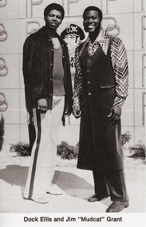 Dock Ellis and Mudcat Grant 1971