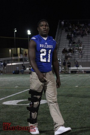 James Williams is out for the year (Photo by Ross A. Benson)